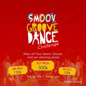 Cash Prizes For Grabs in Smoov Groov Dance Challenge.