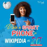 Win a Smartphone in Wikipedia@20Nigeria Giveaway.