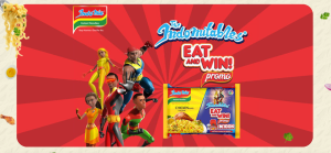 """N100K and Soo Many Prizes For Grabs in Indomie """"Eat and Win"""" Promo."""