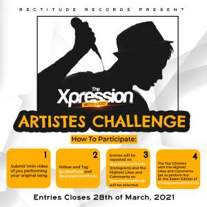 Join #thexpressionwithcdo Easter Edition Artistes Challenge and gain Exposure.