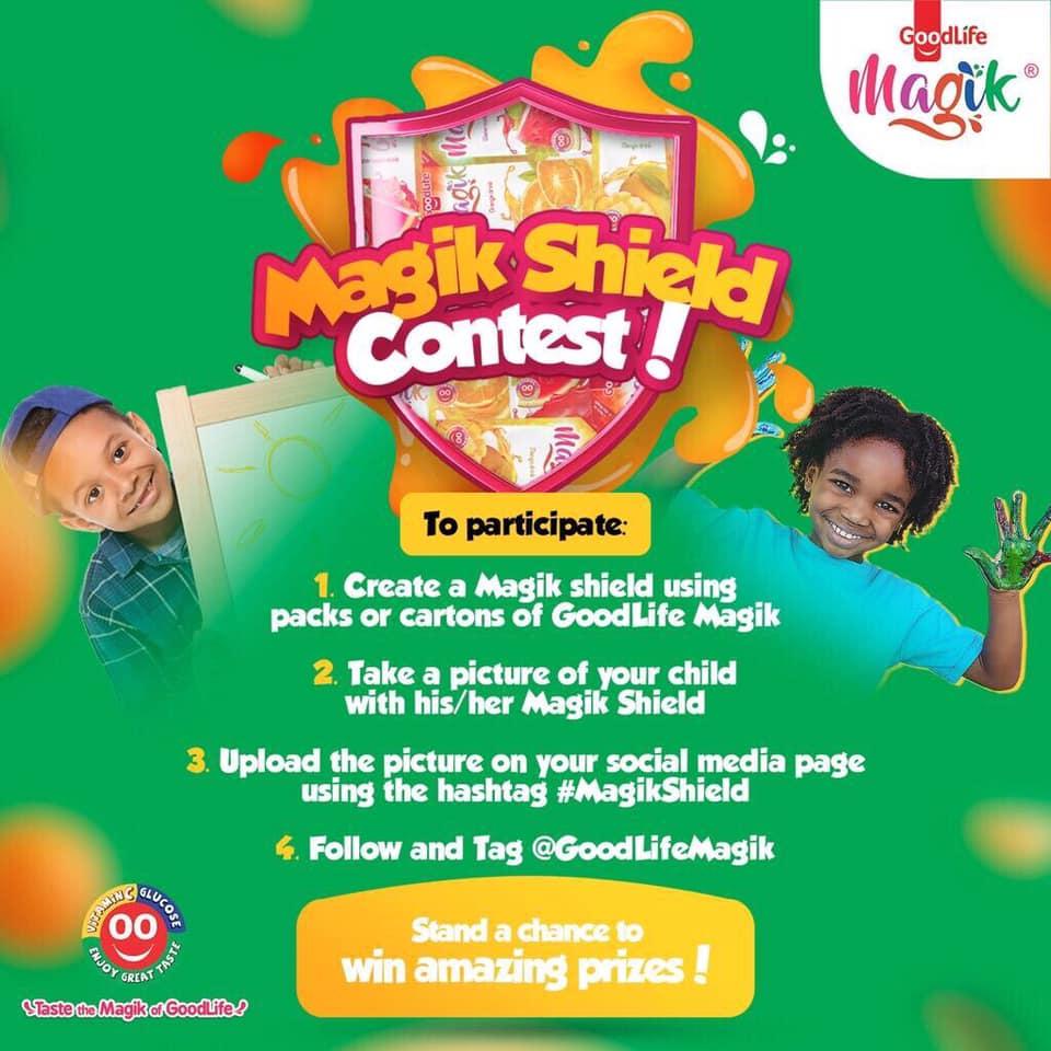 GoodLife Magik 'Magik Shield Contest', Win Amazing Prizes.
