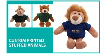 Custom Printed Stuffed Animals