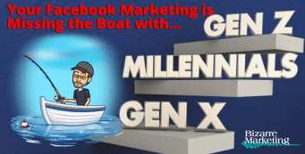 Your Facebook Marketing is Missing the Boat with Gen X, Millennials, and Gen Z