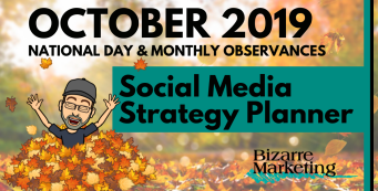 October 2019 Social Media Content Ideas