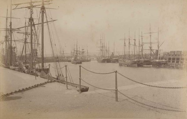 Porthcawl Harbour circa. 1880
