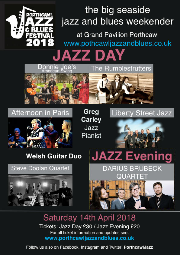 Porthcawl Jazz & Blues Festival 2018