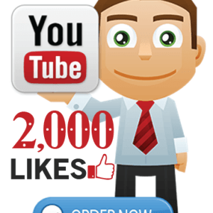 Buy 2000 YouTube Likes