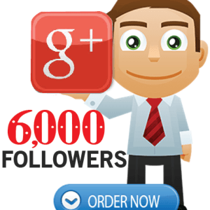 Buy 6000 Google Plus Followers