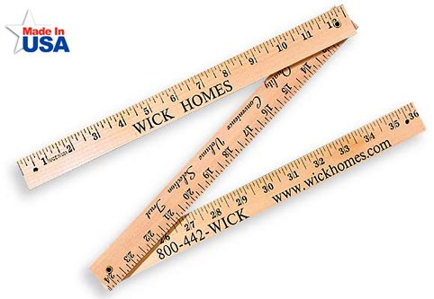 Promotional Folding Yardsticks