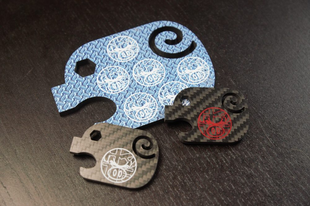 Carbon Fiber Hate Pigs Bottle Openers