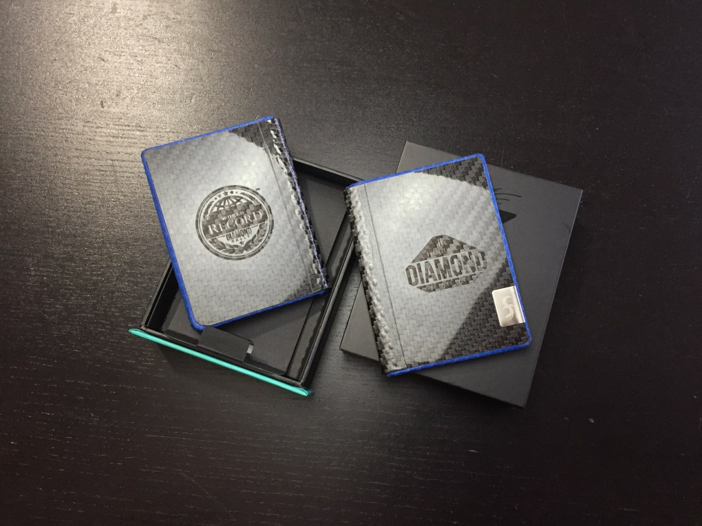 Common Fibers - Hublot Diamond Rally Laser Engraved SLM Wallets