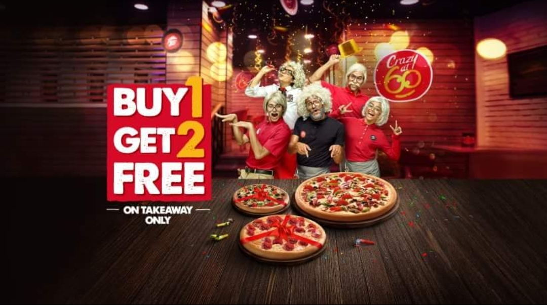 Is Pizza Hut Open On Christmas.Pizzahut Turns 60 Years Old Buy1get2free Promotionsinuae