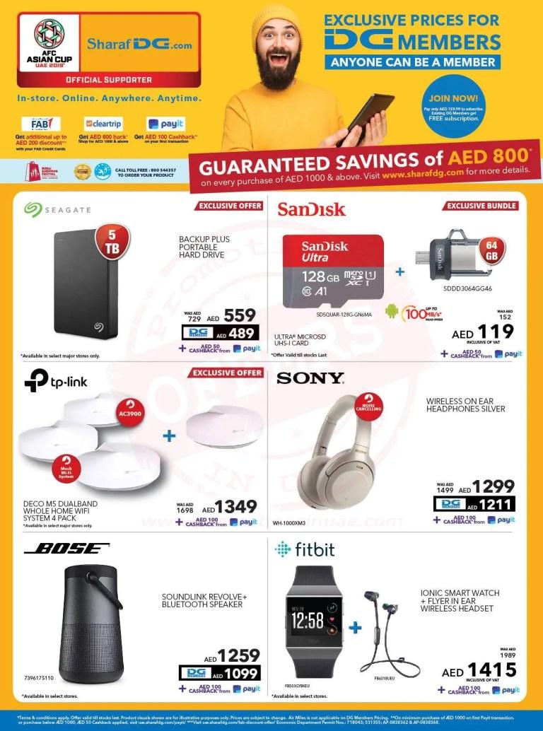 Sharaf DG Guaranteed Savings Offer - Promotionsinuae