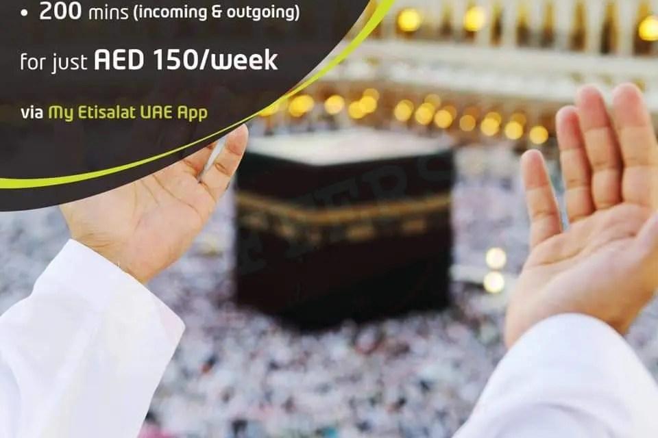 Etisalat Umrah package - Promotionsinuae