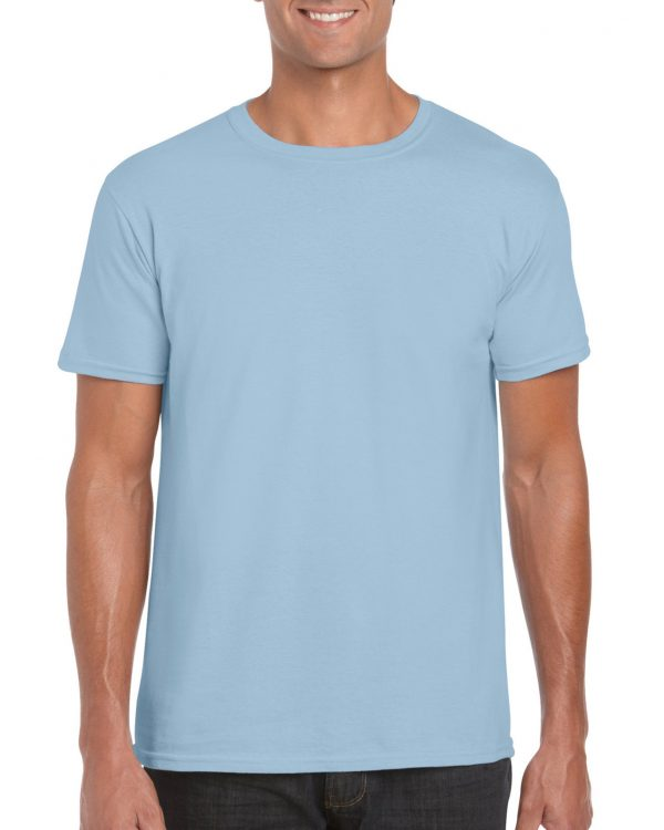 Gildan Softstyle Adult T-Shirt Light Blue Small (64000) 1 | | Promotion Wear