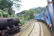 Train Ride from Kandy to Nuwara Eliya - Rail Tracks