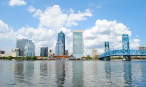 Jacksonville as one of the top places in Florida for spring break