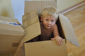 Creative ways in which you can use our moving boxes