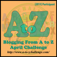 a to z challenge 2013