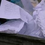 documente aruncate