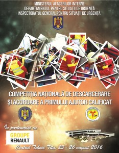 Afis Competitie descarcerare