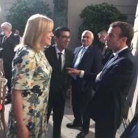 Corina Cretu – Macron