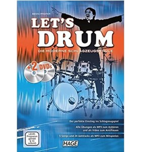 Benni Pfeiffer Let´s Drum Buch