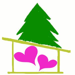 Hearts in the Write Place logo #HITWP Medium