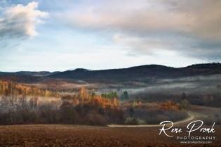 Landscape near Pecno