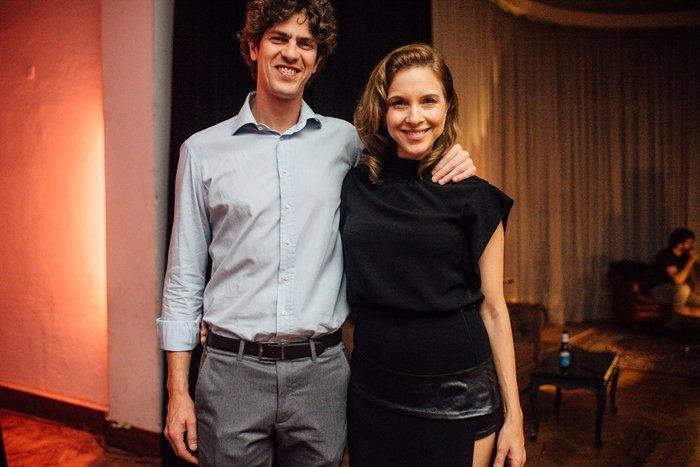 Martín Lousteau y Carla Peterson