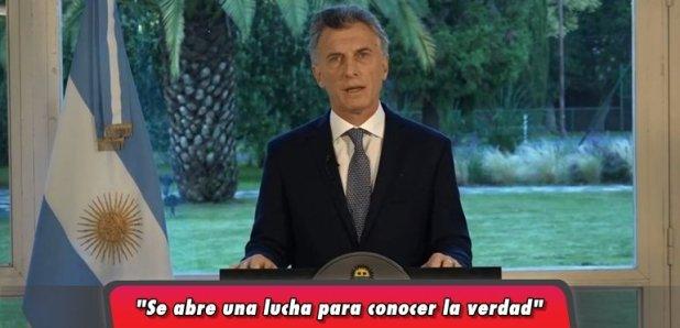 Mauricio Macri decretó tres días de duelo en homenaje a los 44 tripulantes del ARA San Juan