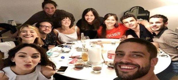 Luego de la denuncia de Thelma Fardín, se reencontraron los actores de Patito Feo