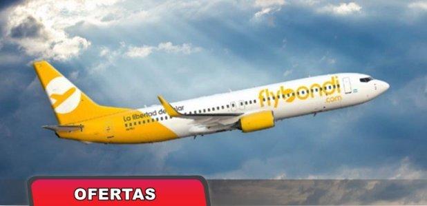 Flybondi ofrecerá vuelos desde $1 durante todo el día
