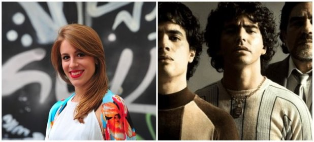 Laura Esquivel sobre interpretar a Claudia Villafañe en la serie de Maradona:
