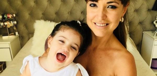 Andrea Estévez indignada con el juez que lleva la causa de alimentos contra el padre de su hija Hannah