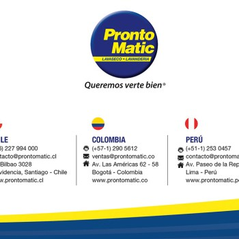 prontomatic ingresa a colombia