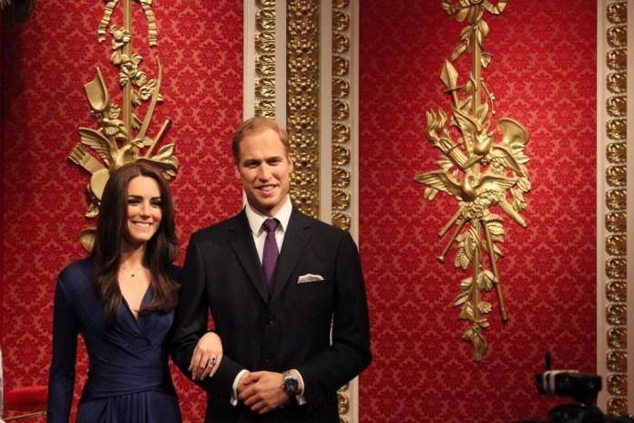 O Duque e a Duquesa de Cambridge, William e Kate