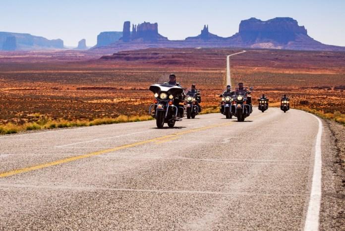 Idolatrada entre os motociclistas: Rout 66