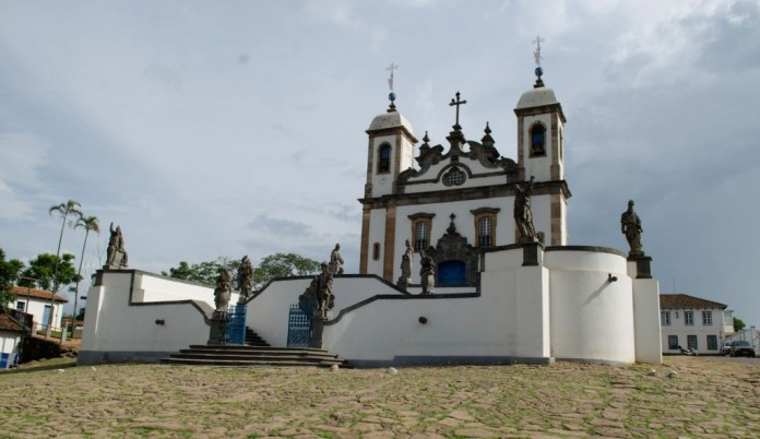 Congonhas - Santuário do Bom Jesus de Matosinhos foi construído entre 1757 e o início do século XIX (Ana Elisa/Portal EBC)