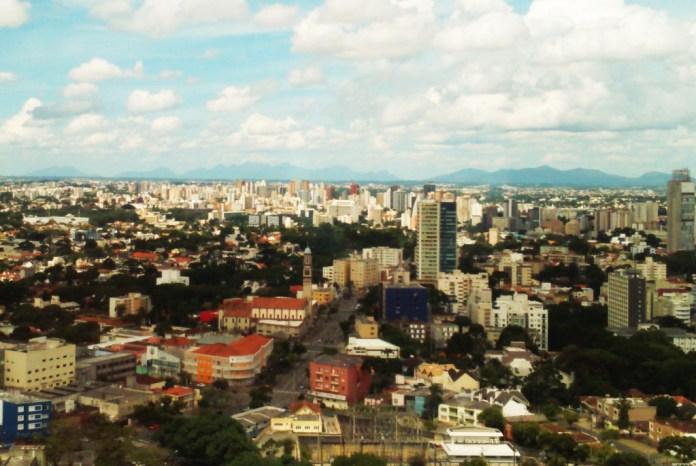 Vista da Cidade do Mirante de Curitiba