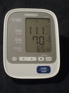 blood pressure day 18
