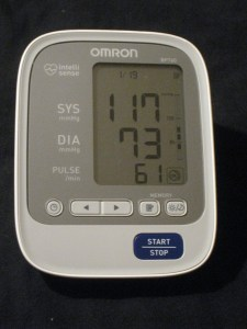 blood pressure day 19