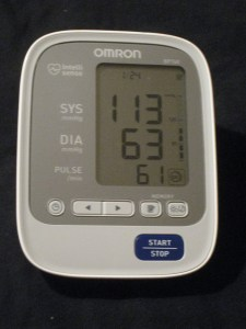 blood pressure day 24