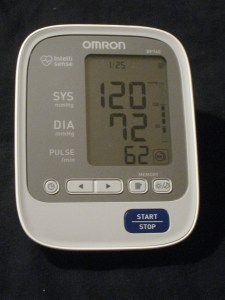 blood pressure day 25