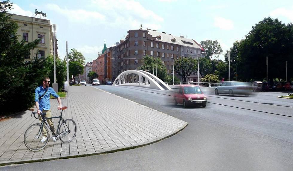 Olomoucký Deník: Nový Most Na Masarykově Třídě Vyladil Design. Takto Má Vypadat