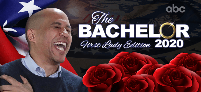 Corey Booker to be the next Bachelor