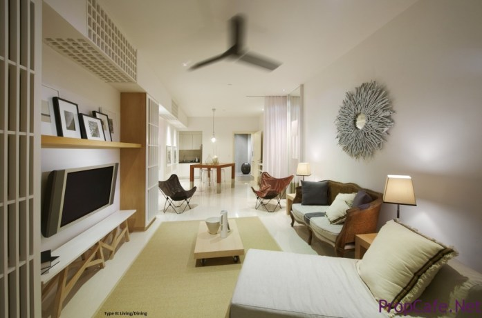 G Res - Type B Living Dining2