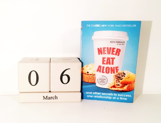 Never Eat Alone - PropelHer's Book of the Month March 2017