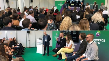 Crowded Theatre for 'Creepy' Propeller Panel at Ecommerce Expo