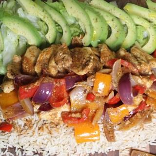 Fajita Spiced Chicken Platter